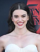 "28 June 2019 - Santa Monica, California - Francesca Reale. ""Stranger Things 3"" LA Premiere held at Santa Monica High School. <br /> CAP/ADM/BT<br /> ©BT/ADM/Capital Pictures"