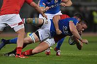 Abraham Steyn  Italy.<br />  <br /> Roma 9-02-2019 Stadio Olimpico<br /> Rugby Six Nations tournament 2019  <br /> Italy - Wales <br /> Foto Antonietta Baldassarre / Insidefoto