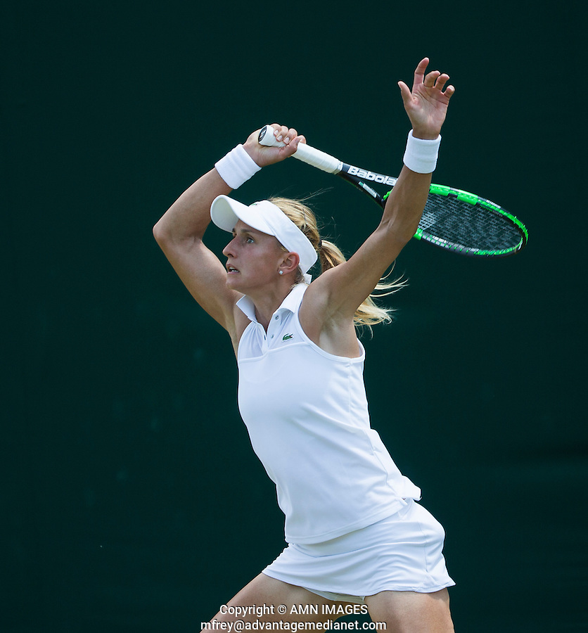 LESIA TSURENKO (UKR)<br /> <br /> TENNIS - THE CHAMPIONSHIPS - WIMBLEDON 2015 -  LONDON - ENGLAND - UNITED KINGDOM - ATP, WTA, ITF <br /> <br /> &copy; AMN IMAGES