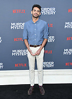 "10 June 2019 - Westwood, California - Karan Soni. Netflix's ""Murder Mystery"" Los Angeles Premiere held at Regency Village Theater. Photo Credit: Birdie Thompson/AdMedia"