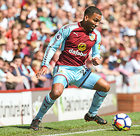 Burnley's Aaron Lennon<br /> <br /> Photographer Alex Dodd/CameraSport<br /> <br /> The Premier League - Burnley v Bournemouth - Sunday 13th May 2018 - Turf Moor - Burnley<br /> <br /> World Copyright &copy; 2018 CameraSport. All rights reserved. 43 Linden Ave. Countesthorpe. Leicester. England. LE8 5PG - Tel: +44 (0) 116 277 4147 - admin@camerasport.com - www.camerasport.com