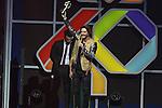 01.12.2016 Barcelona. Los 40 music awards 2016. Manuel Carrasco