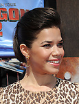 America Ferrera arriving at Twentieth Century Fox Los Angeles premiere of How To Train Your Dragon 2 held at Regency Village Theater June 8,, 2014.