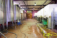 stainless steel tanks domaine protheau mercurey burgundy france