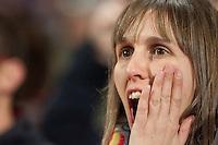 Real Madrid fan screaming to Cristiano Ronaldo