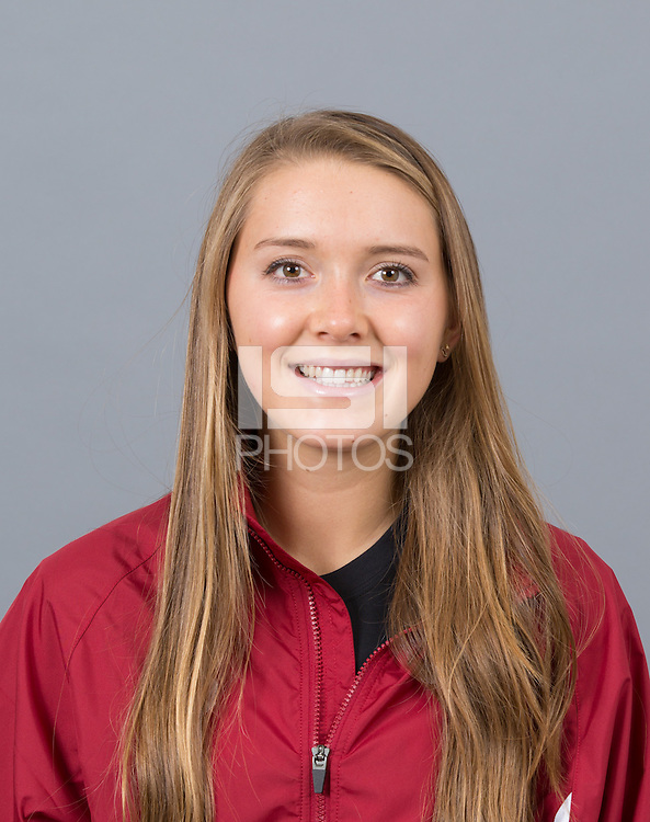 STANFORD, CA - SEPTEMBER 24, 2014--Cami Chapus, with Stanford University Cross Country Team