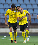 Alashkert FC v St Johnstone...02.07.15   Republican Stadium, Yerevan, Armenia....UEFA Europa League Qualifier.<br /> Mihran Manasyan celebrates his goal<br /> Picture by Graeme Hart.<br /> Copyright Perthshire Picture Agency<br /> Tel: 01738 623350  Mobile: 07990 594431