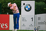 Marcel Siem (GER) tees off on the 1st tee to start his round during of Day 3 of the BMW International Open at Golf Club Munchen Eichenried, Germany, 25th June 2011 (Photo Eoin Clarke/www.golffile.ie)