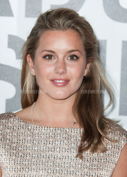 Caggie Dunlop arriving for the gala awards show for Graduate Fashion Week 2013 at Earls Court, London. 05/06/2013 Picture by: Alexandra Glen / Featureflash