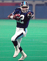Willie Gillus Toronto Argonauts quarterback 1991. Photo Scott Grant