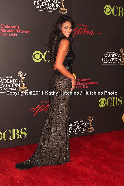 LAS VEGAS - JUN 19:  Nadia Bjorlin arriving at the 38th Daytime Emmy Awards at Hilton Hotel & Casino on June 19, 2010 in Las Vegas, NV.