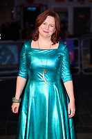 "Claire Stewart<br /> arriving for the London Film Festival 2017 screening of ""The Shape of Water"" at the Odeon Leicester Square, London<br /> <br /> <br /> ©Ash Knotek  D3329  10/10/2017"