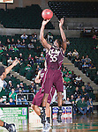 Louisiana Monroe Warhawks guard Fred Brown (55) in action during the game between the Louisiana Monroe Warhawks and the University of North Texas Mean Green at the North Texas Coliseum,the Super Pit, in Denton, Texas. UNT defeats ULM 86 to 51...