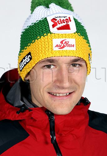 16.10.2010  Winter sports OSV Einkleidung Innsbruck Austria. Ski Nordic Ski jumping OSV Austrian Ski Federation. Picture shows Markus Eggen Hofer AUT