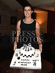 Margaret Tuite celebrating her 40th birthday in The Venue at McHugh's. Photo:Colin Bell/pressphotos.ie