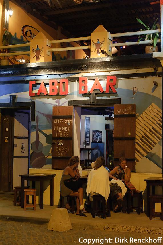 Bar in Santa Maria, Sal, Kapverden, Afrika