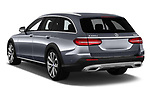 Car pictures of rear three quarter view of 2017 Mercedes Benz E-Class All-Terrain 5 Door Wagon Angular Rear