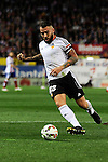 Valencia CF´s Nicolas Otamendi during 2014-15 La Liga match between Atletico de Madrid and Valencia CF at Vicente Calderon stadium in Madrid, Spain. March 08, 2015. (ALTERPHOTOS/Luis Fernandez)