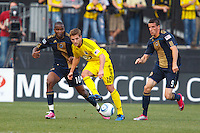 24 OCTOBER 2010:  during MLS soccer game at Crew Stadium in Columbus, Ohio on August 28, 2010.