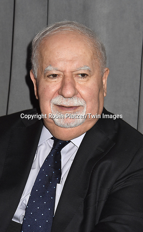 Honoree Vartan Gregorian attends The New Jewish Home Gala Honoring 8 Over 80 on March 12, 2018 at the Ziegfeld Ballroom in New York, New York, USA.<br /> <br /> photo by Robin Platzer/Twin Images<br />  <br /> phone number 212-935-0770
