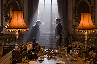 Darkest Hour (2017) <br /> Gary Oldman stars as Winston Churchill and Ben Mendelsohn as King George VI <br /> *Filmstill - Editorial Use Only*<br /> CAP/KFS<br /> Image supplied by Capital Pictures