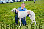 Vanilla Ice with  Owner Mike Quinn at the Ballyheigue Coursing on Sunday
