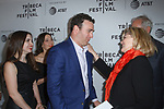 Matt Ratner and Debra Monk arrive at the world premiere of Standing Up, Falling Down at the 2019 Tribeca Film Festival presented by AT&T Thursday, April 25, 2019 at SVA Theater - 333 West 23 Street New York, NY.