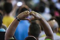 SAO PAULO, SP, 19.12.2013 - EXPO-CATADORES / DILMA ROUSSEFF -  Encontro com Catadores de Materiais Recicláveis e com População em Situação de Rua no Anhembi - Centro de Exposições Pavilhão Oeste na regiao norte de Sao Paulo , nesta quinta-feira, 19. (Foto: Vanessa Carvalho / Brazil Photo Press).