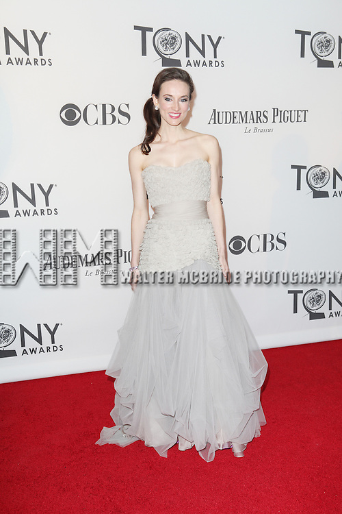 Elizabeth A. Davis pictured at the 66th Annual Tony Awards held at The Beacon Theatre in New York City , New York on June 10, 2012. © Walter McBride / WM Photography
