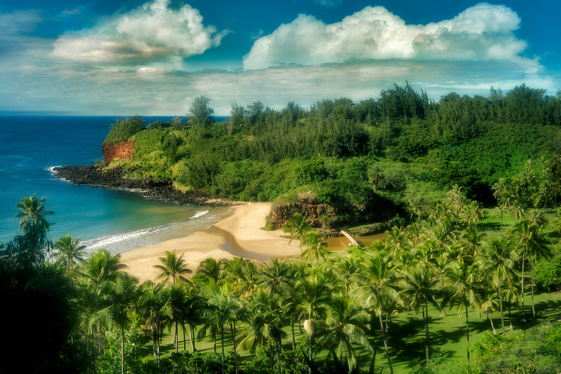 Beach on way to alerton Gardens, Kauai, Hawaii