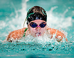Cottonwood's Alicia May competes in the 100 yard fly race during the 53rd annual Country Club Swimming Championships on Tuesday, Aug. 7, 2012, in Kearns, Utah. (© 2012 Douglas C. Pizac)