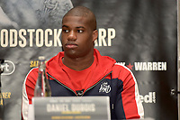 Daniel Dubois during a Press Conference at the Landmark London Hotel on 2nd August 2018
