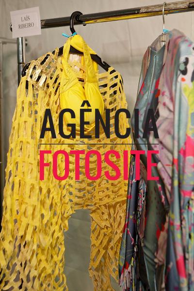 Rio de Janeiro, Brasil – 26/05/2012 - Backstage do desfile de Triya durante o Fashion Rio  - Verao 2013. Foto : Sergio Caddah / Agência Fotosite