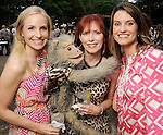 From left: Jill Smith, Kaye Schuler and Carrie Feighl at the Zoo Friends of Houston's 22nd Zoo Ball Friday April 30,2010.  (Dave Rossman Photo)