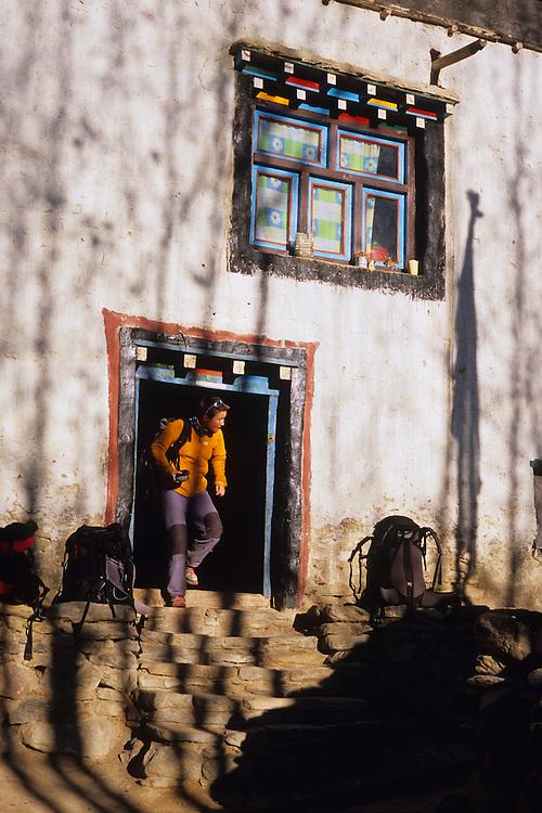 Tsarang guesthouse, Mustang, Nepal, 2008