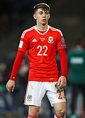 9th October 2017, Cardiff City Stadium, Cardiff, Wales; FIFA World Cup Qualification, Wales versus Republic of Ireland; Ben Woodburn of Wales during the match