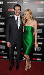 HOLLYWOOD, CA - MARCH 14: Jon Hamm and Jennifer Westfeldt arrive at AMC's 'Mad Men' Season 5 Premiere at ArcLight Cinemas Cinerama Dome on March 14, 2012 in Hollywood, California.