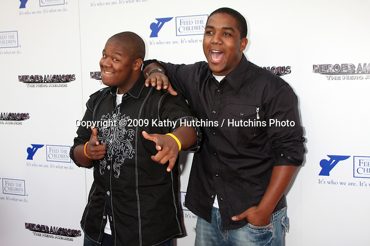 Kyle & Christopher Massey arriving at the 2009 Hero Awards at the Universal Backlot  in Los Angeles, CA  on May 29, 2009 .©2009 Kathy Hutchins / Hutchins Photo..