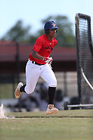 Joshua Rivera (72) of Avon Park High School in Avon Park, Florida during the Under Armour Baseball Factory National Showcase, Florida, presented by Baseball Factory on June 12, 2018 the Joe DiMaggio Sports Complex in Clearwater, Florida.  (Nathan Ray/Four Seam Images)
