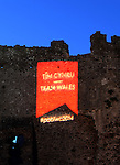 Pre Commonwealth Games - Team Wales - Laugharne Castle- Monday 23rd June 2014 <br /> <br /> &copy; www.sportingwales.com- PLEASE CREDIT IAN COOK