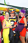 Enjoying Ladies Day at the Listowel Races on Friday were: Michelle Halpin, Betty McGrath Moriarty, Jacqueline Halpin from Listowel.