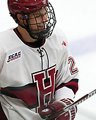 Jacob Olson (Harvard - 26) - The Harvard University Crimson tied the visiting Yale University Bulldogs 1-1 on Saturday, January 21, 2017, at the Bright-Landry Hockey Center in Boston, Massachusetts.