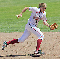 STANFORD, CA - April 30, 2011:  Ashley Hansen during Stanford's 7-1 loss to Washington at Stanford, California on April 30, 2011.