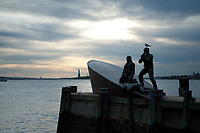 American Merchant Marine Memorial, Battery Park City, NY, NY