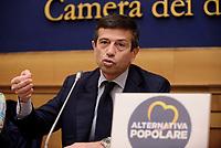 Roma, 11 Maggio 2017<br /> Maurizio Lupi<br /> Conferenza stampa di presentazione delle politiche per la famiglia di Alternativa popolare.<br /> Per la Festa della mamma Alternativa Popolare, festeggia  l'entrata in vigore del Bonus Mamma, il premio nascita di 800 euro erogato dall'INPS
