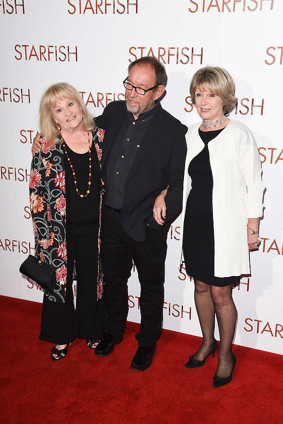 """Michelle Dotrice and director, Bill Clark<br /> at the """"Starfish"""" UK premiere, Curzon Mayfair, London.<br /> <br /> <br /> ©Ash Knotek  D3190  27/10/2016"""