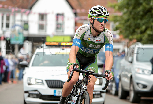 8th September 2017, Newmarket, England; OVO Energy Tour of Britain Cycling; Stage 6, Newmarket to Aldeburgh; Regan Gough of An Post Chain Reaction