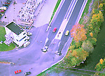 Aerial view of Drag Racing in Maryland