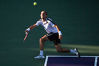 Andy Murray of Great Britain in action at the Miami Open