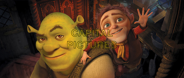SHREK (MIKE MYERS) & RUMPELSTILTSKIN (WALT DOHRN).in Shrek Forever After .(Shrek Goes Fourth).(Shrek 4).*Filmstill - Editorial Use Only*.CAP/FB.Supplied by Capital Pictures.